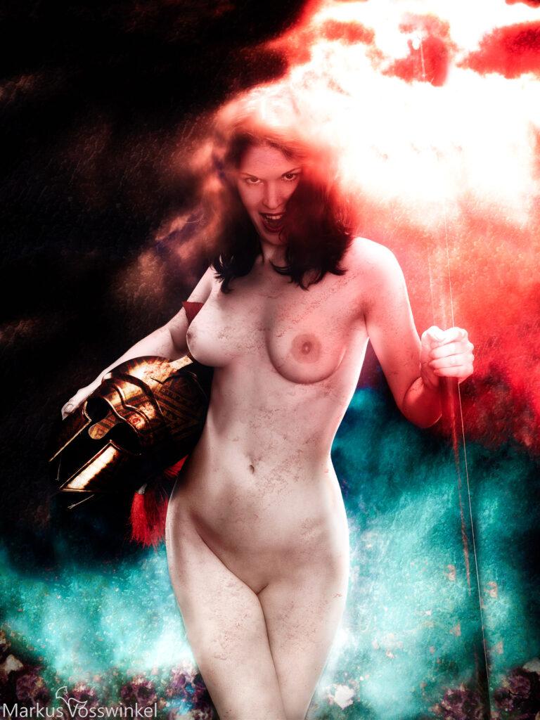 Fantasy Art, Athena