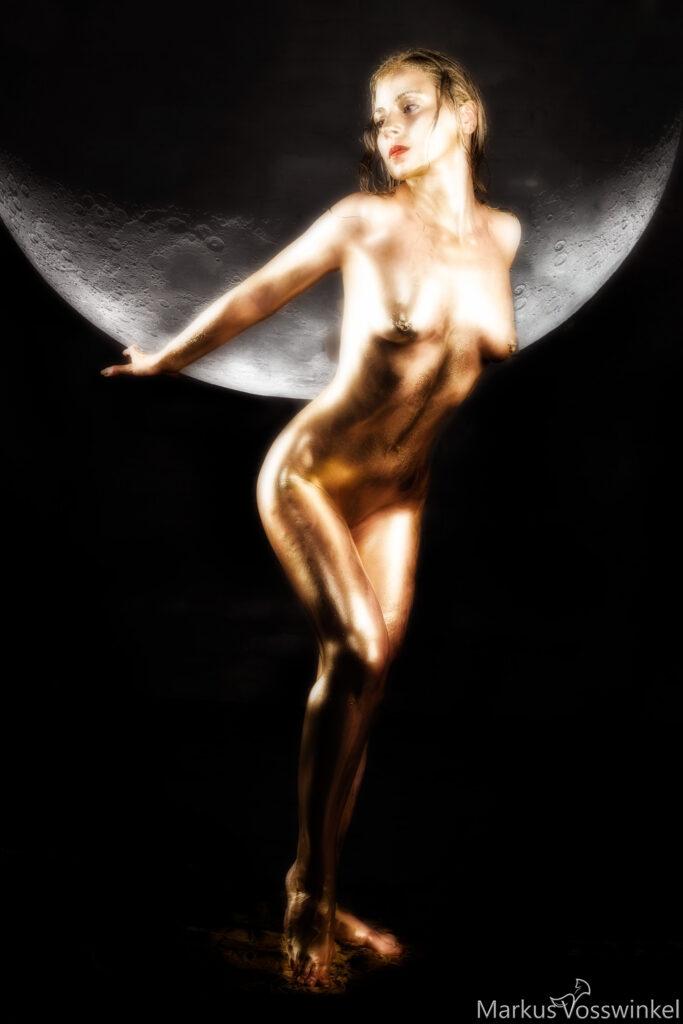 Fantasy Art, Moon Lady
