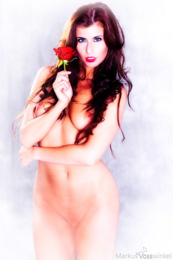 half body portrait photography, Lady Rose