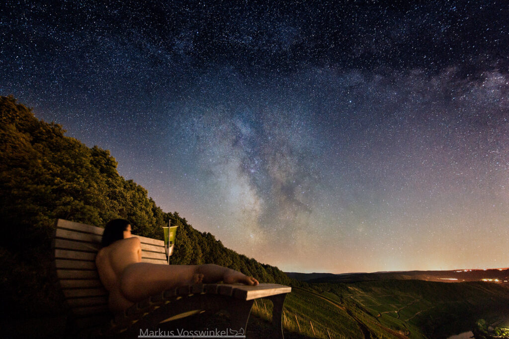 outdoor photography, the starry night