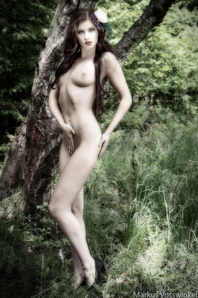 outdoor photography, forest fairy