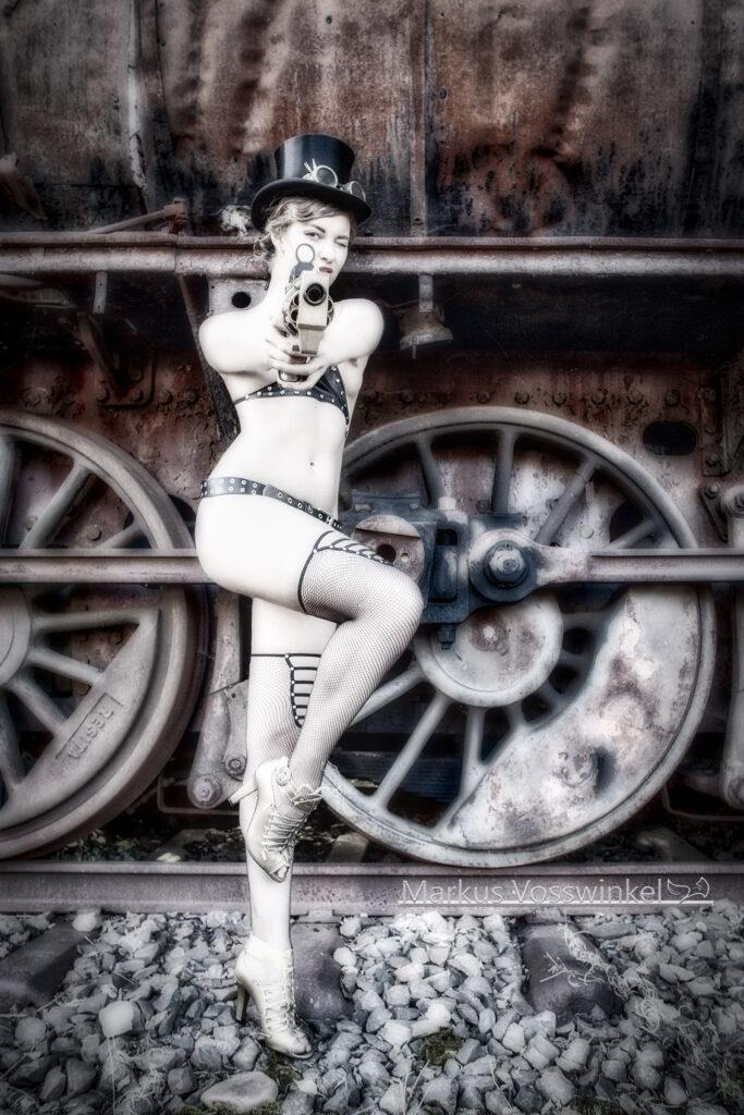 steampunk, steampunk weapon