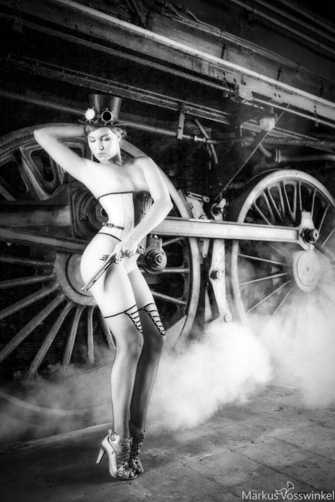 steampunk, attack