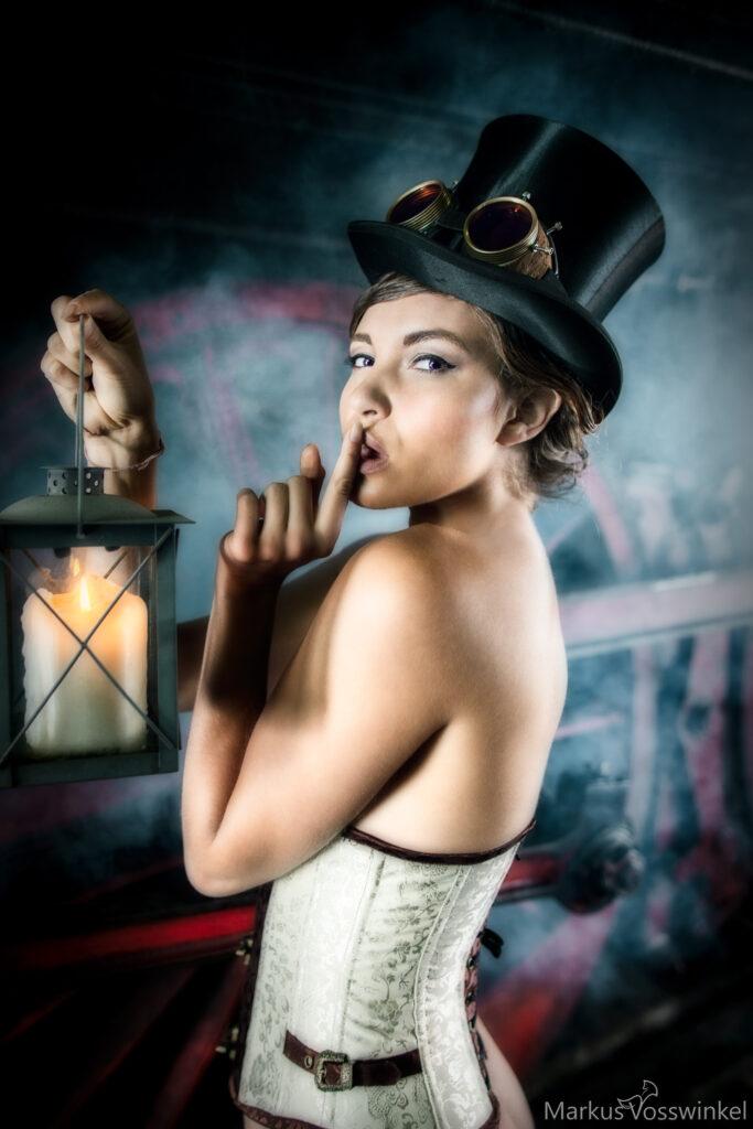 steampunk, calm